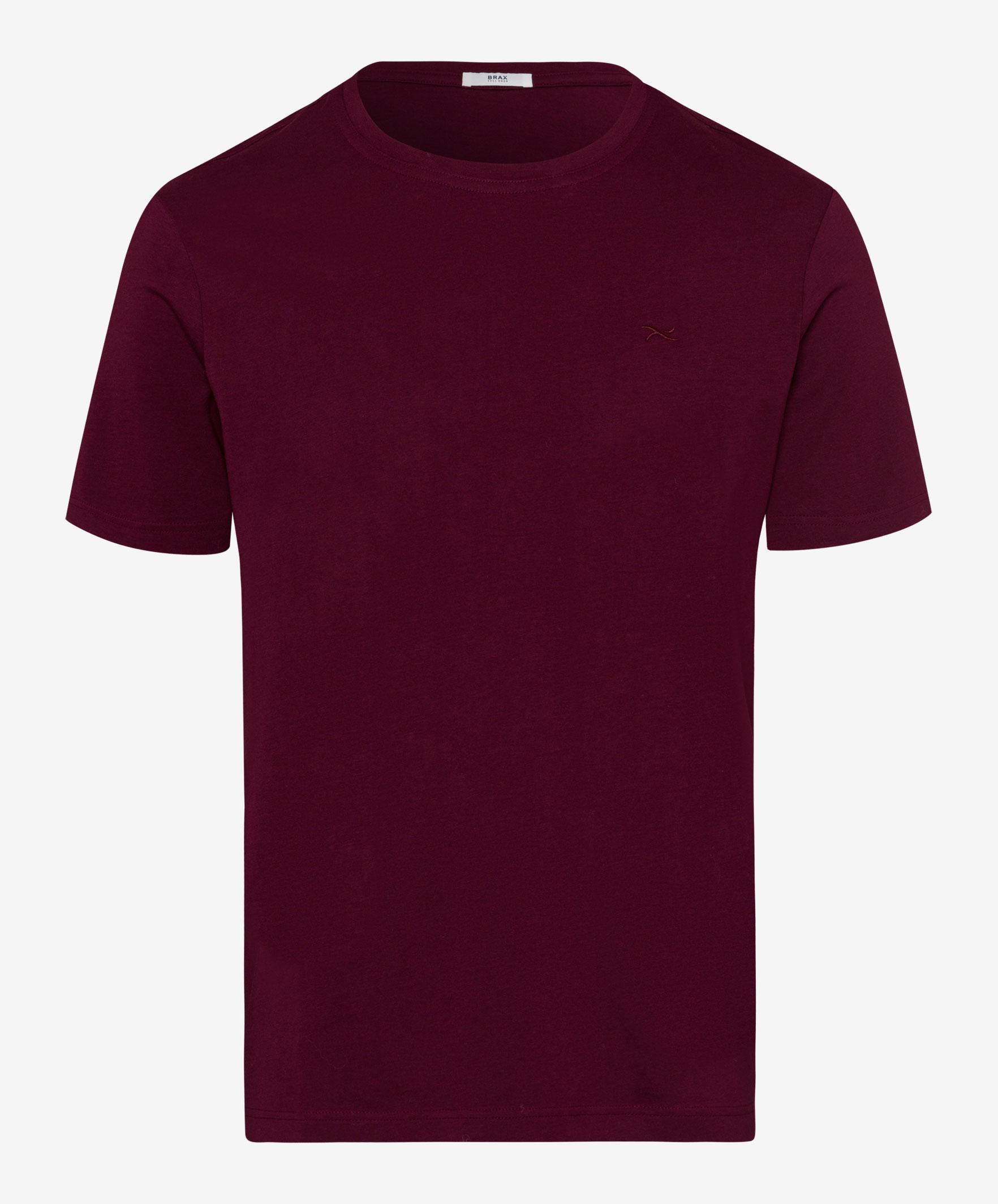 verschiedene Arten von Großhandelspreis 2019 gehobene Qualität Brax Tommy T-Shirt Port Red